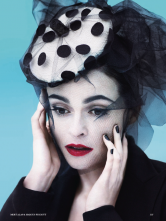 Helena Bonham Carter Vogue cover