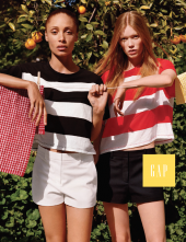 Gap advertising SS 15