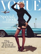 vogue paris cover 2011 august