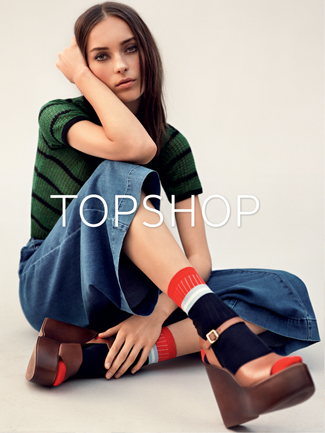 Alasdair McLellan for Top Shop 2015