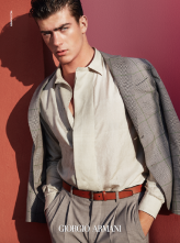 Solve Sundsbo, Armani Advertising spring summer 2016