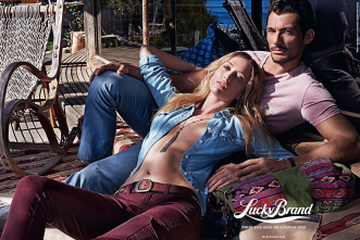 Lucky Brand advertising SS 2015