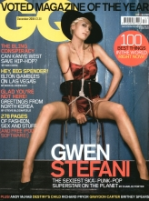 GQ cover Gwen Stafani