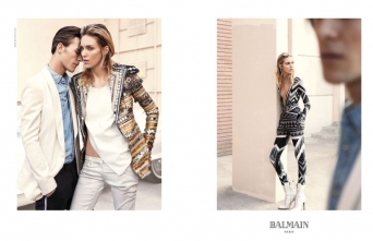 Balmain advertising, Inez and Vinoodh