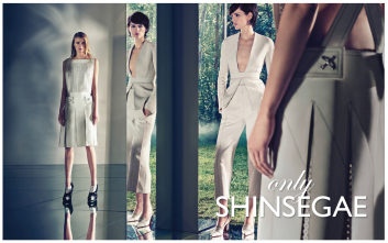 Shinsegae advertising campaign for Spring Summer 2014
