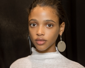 Backstage at the Isabel Marant Spring Summer 2016 show