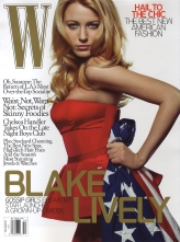 W Cover of Blake Lively December 2008