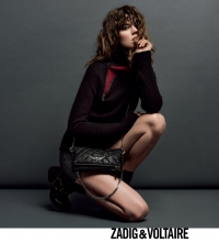 Advertisng for Zadig & Voltaire
