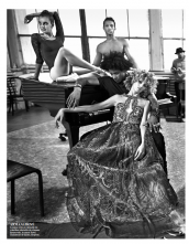 Vogue Paris shoot with Mario Sorrenti