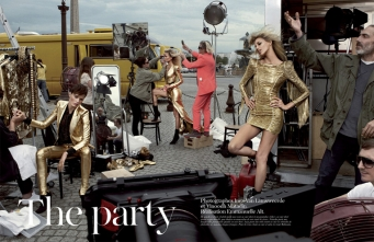 Vogue Paris, the Party