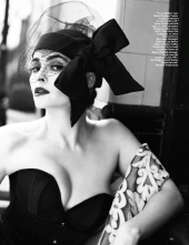 Helena Bonham Carter Vogue