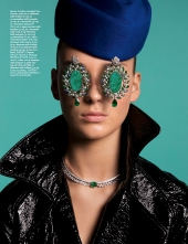 Vogue Paris les Yeux de Julia
