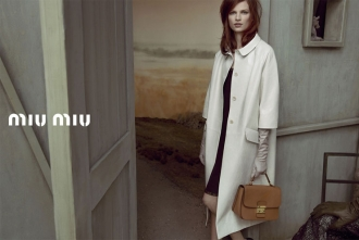 Miu Miu advertising, Inez and Vinoodh, 2013