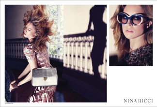 Nina Ricci advertising S/S Inez and Vinoodh