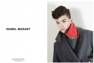 Isabel Marant advertising F/W 2012