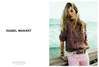 Isabel Marant advertising S/S 2011